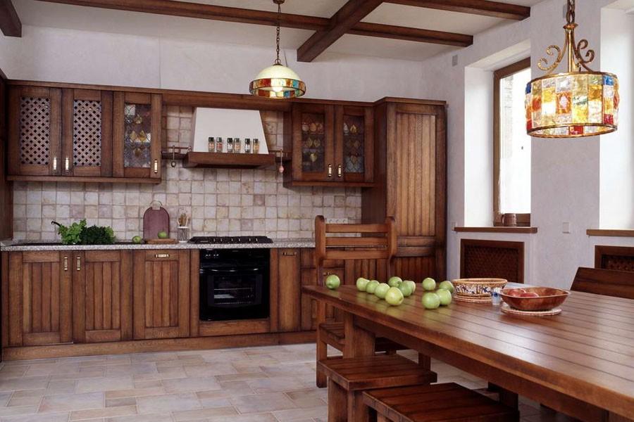 Классический интерьер кухни в стиле