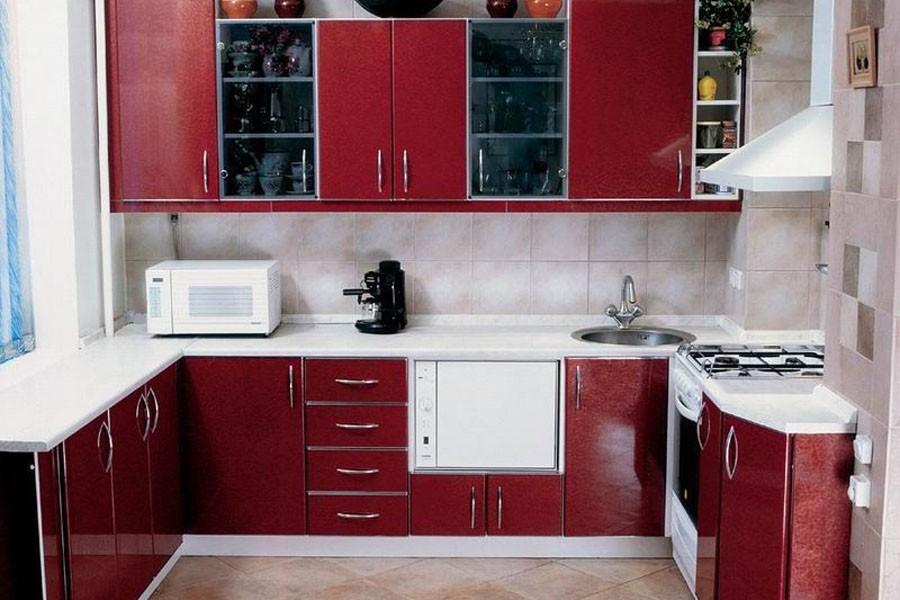 Интерьер кухни в панельных домах