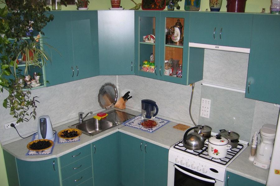Кухня 6 м интерьер