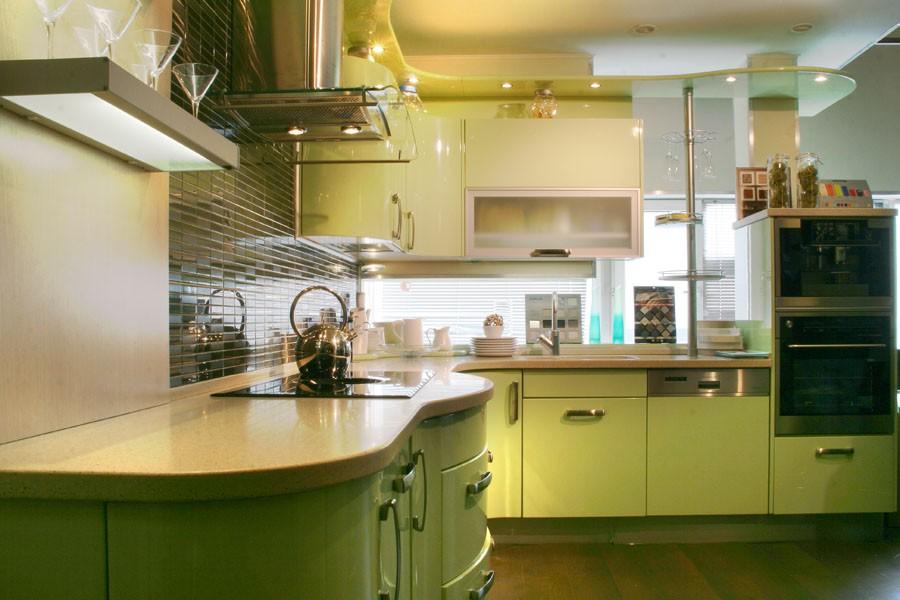 Фисташковая кухня фото