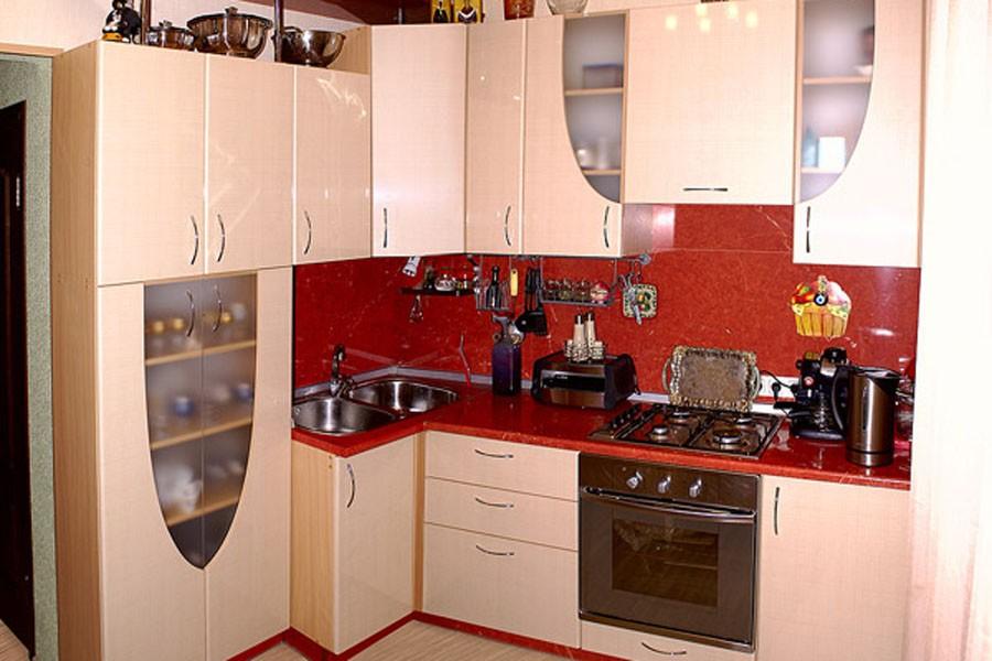 фото маленьких кухонь 8 кв м