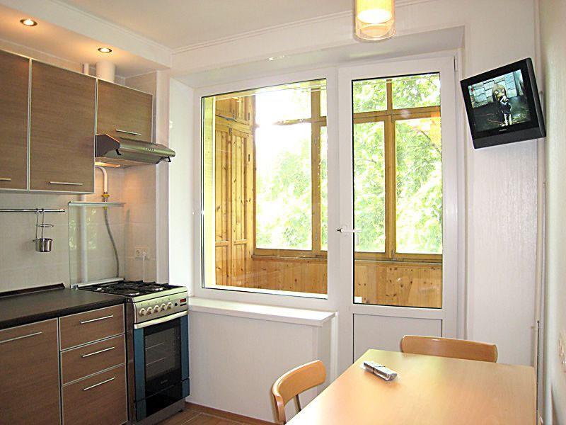Дизайн кухни 8 кв м в домах серии п 55 и