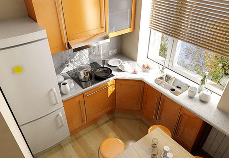 Дизайн кухня 7 м.кв