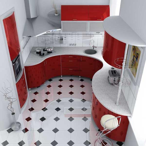 Дизайн кухни 7 кв м подразумевает