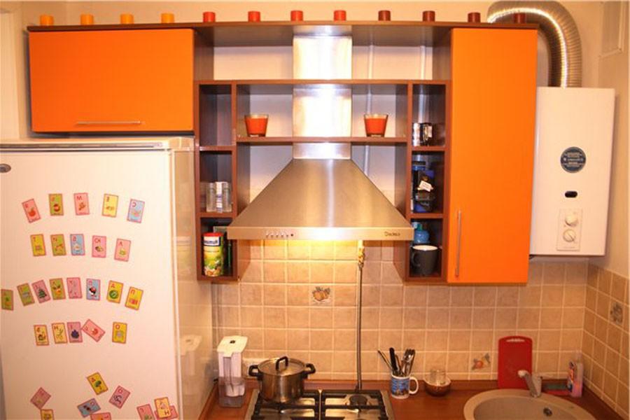 ремонт кухни в хрущевке фото с газовой колонкой. января 27, 2012