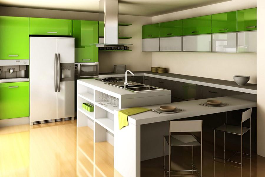 Beadboard kitchen